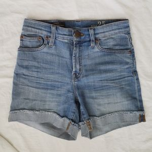 J Crew high rise shorts